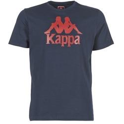 Textiel Heren T-shirts korte mouwen Kappa ESTESSI Marine