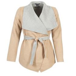 Textiel Dames Mantel jassen Tom Tailor JAZOUVE Beige / Grijs