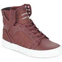 Schoenen Hoge sneakers Supra SKYTOP Bordeau