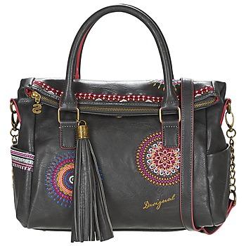 Tassen Dames Handtassen kort hengsel Desigual LIBERTY  GRETA Zwart / Multi
