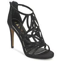 Schoenen Dames Sandalen / Open schoenen Ravel BLANCO Zwart / Satijn