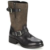 Schoenen Dames Hoge laarzen Koah JUNE Zwart