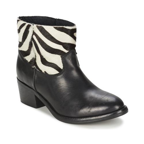 Schoenen Dames Laarzen Koah ELEANOR Zwart