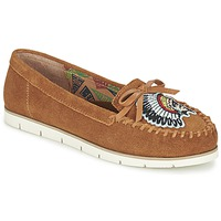 Schoenen Dames Mocassins Miss L'Fire CHIEFTAIN Camel