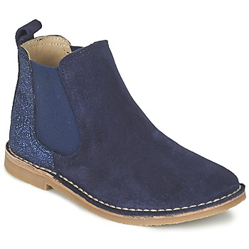 Schoenen Meisjes Laarzen Citrouille et Compagnie FIGOULI Blauw