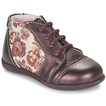 Schoenen Meisjes Laarzen Citrouille et Compagnie FRICOL Violet