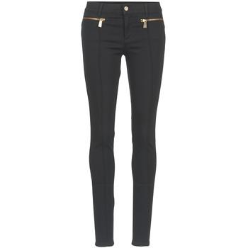 Textiel Dames 5 zakken broeken Versace Jeans TOLKALA Zwart