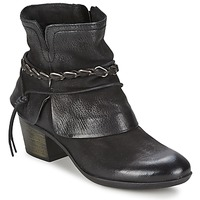 Schoenen Dames Enkellaarzen Dream in Green BAKKAR Zwart