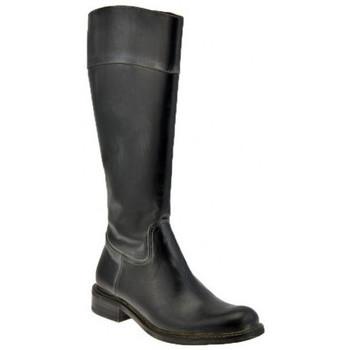 Schoenen Dames Hoge laarzen Dmn  Zwart