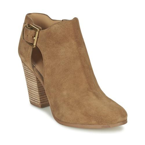 Schoenen Dames Low boots MICHAEL Michael Kors ADAMS Camel