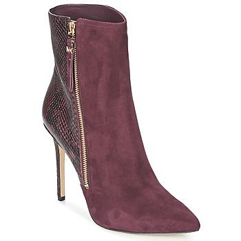 Schoenen Dames Low boots MICHAEL Michael Kors DAWSON BOOTIE Bordeau