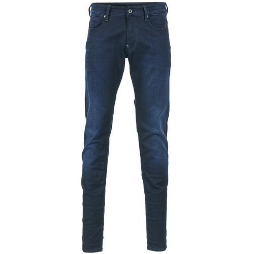 Textiel Heren Skinny Jeans G-Star Raw REVEND SUPER SLIM Indigo