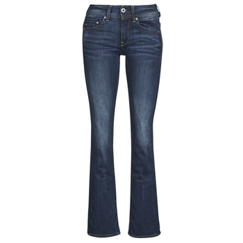G-Star RAW Midge mid rise flared fit jeans met faded look