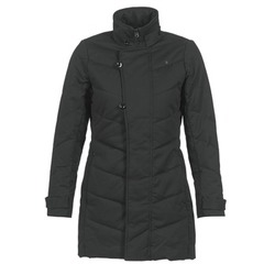 Textiel Dames Parka jassen G-Star Raw MINOR CLASSIC QLT COAT Zwart
