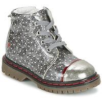 Schoenen Meisjes Laarzen GBB NEVA Grijs / Print