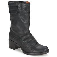Schoenen Dames Enkellaarzen Espace DORPIN Zwart