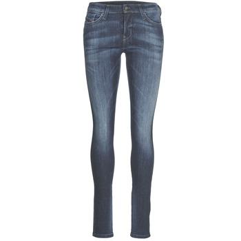 Textiel Dames Skinny jeans Diesel SKINZEE Blauw / 0856g