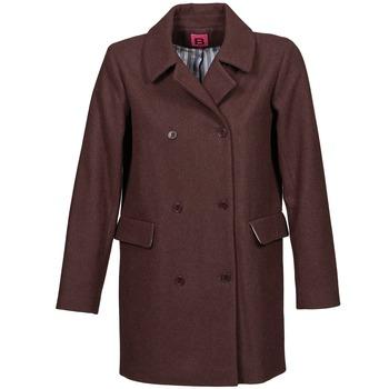 Textiel Dames Mantel jassen Bensimon WHITER Pruim