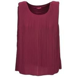 Textiel Dames Tops / Blousjes Bensimon REINE Pruim