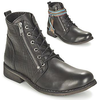 Schoenen Dames Laarzen Felmini BEJA Zwart