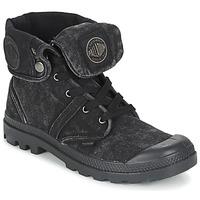 Schoenen Heren Laarzen Palladium US BAGGY Zwart / Metaal