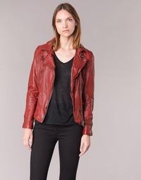 Textiel Dames Leren jas / kunstleren jas Oakwood 62065 Rood