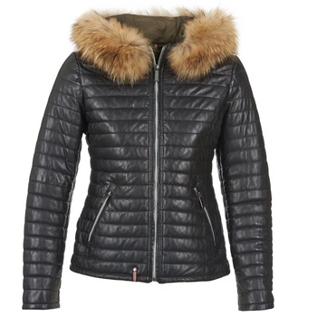 Textiel Dames Dons gevoerde jassen Oakwood 61677 Zwart