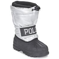 Schoenen Meisjes Snowboots Ralph Lauren JAKSON Zilver / Zwart