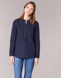 Textiel Dames Overhemden Casual Attitude FARANDOLE Marine