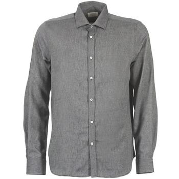 Textiel Heren Overhemden lange mouwen Casual Attitude FOLI Grijs