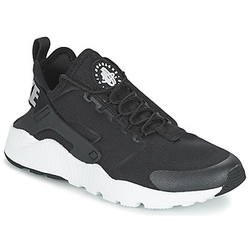 Schoenen Dames Lage sneakers Nike AIR HUARACHE RUN ULTRA W Zwart / Wit