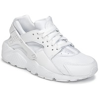 Schoenen Jongens Lage sneakers Nike HUARACHE RUN JUNIOR Wit