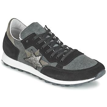 Schoenen Dames Lage sneakers Yurban FILLIO Grijs / Zwart