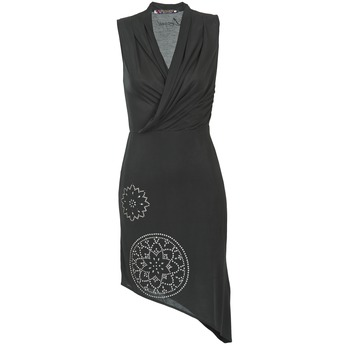 Textiel Dames Korte jurken Desigual RAZIANA Zwart