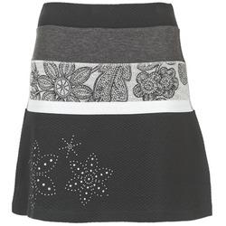 Textiel Dames Rokken Desigual REVUNE Zwart / Grijs