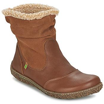 Schoenen Dames Laarzen El Naturalista NIDO Bruin
