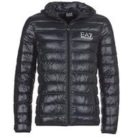 Textiel Heren Dons gevoerde jassen Emporio Armani EA7 ANDOURALO Zwart