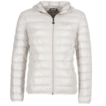 Textiel Heren Dons gevoerde jassen Emporio Armani EA7 ANDOURALO Wit