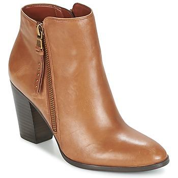 Schoenen Dames Low boots Ralph Lauren FAHARI Cognac