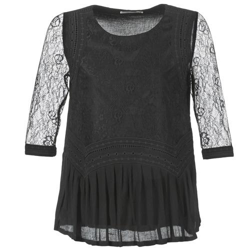 Textiel Dames Tops / Blousjes See U Soon SATURNIN Zwart