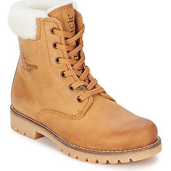 Schoenen Dames Laarzen Panama Jack PANAMA Beige