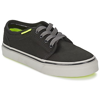 Schoenen Kinderen Lage sneakers Vans 106 VULCANIZED Zwart / Grijs / Geel