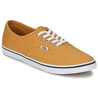 Schoenen Lage sneakers Vans AUTHENTIC LO PRO Mosterd / True / Wit
