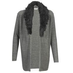 Textiel Dames Vesten / Cardigans Naf Naf NESTOR Antraciet