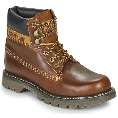 Schoenen Heren Laarzen Caterpillar COLORADO Amber