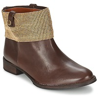 Schoenen Dames Laarzen Schutz WAIPOHI Bruin