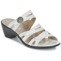 Schoenen Dames Leren slippers Romika Gorda 01 Wit