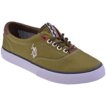 Schoenen Dames Lage sneakers U.S Polo Assn.  Groen