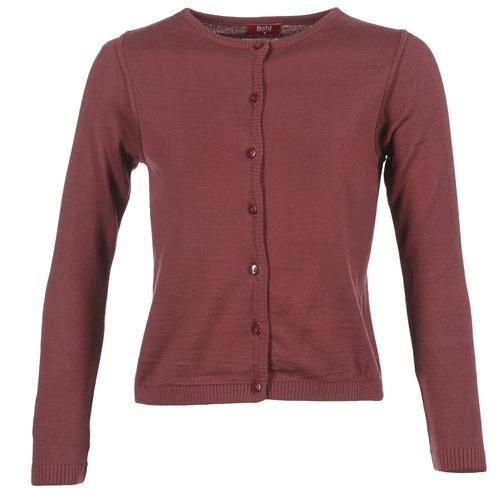 Textiel Dames Vesten / Cardigans BOTD EVANITOA Bordeau