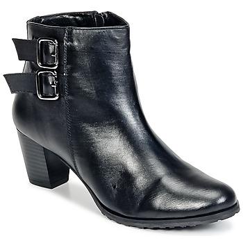 Schoenen Dames Enkellaarzen Balsamik GOMALO Zwart